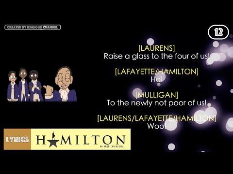 #12 Hamilton - The Story Of Tonight [Reprise] (VIDEO LYRICS)