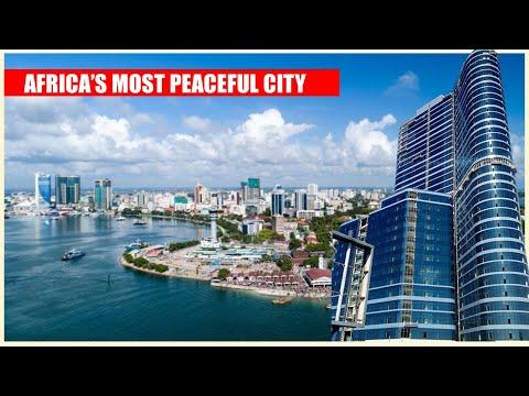 Africa's Most Peaceful City - Discover Dar Es Salaam City Tanzania