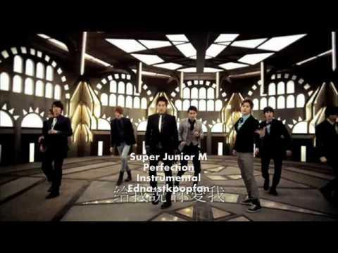 Super Junior M - Perfection (Instrumental) NO BACKGROUND VOCALS + LYRICS!!