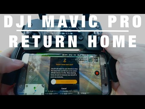 Tutorial: DJI Mavic Pro // Return To Home