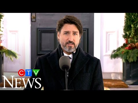 Prime Minister Justin Trudeau addresses Canadians on COVID-19