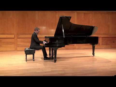 Frédéric Chopin: Sonata #2 in B-flat Minor, Op 35, Mvt III - Matthieu Cognet, piano