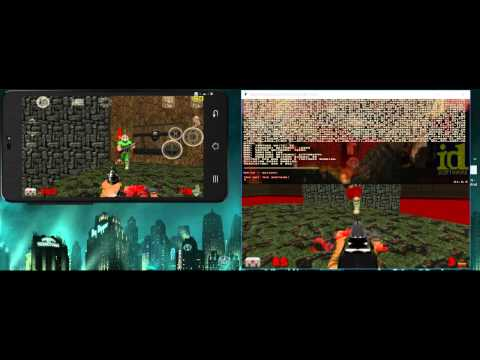 GZDoom PC - Android Cross-platform Multiplayer (D-Touch)