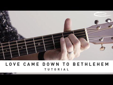 MATT MAHER - Love Came Down To Bethlehem: Tutorial