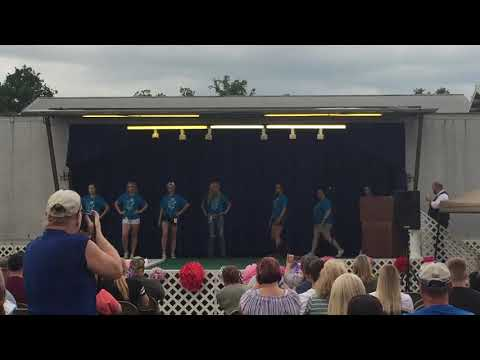 2018 Miss Mineral County Fair Queen Pageant gets underway.