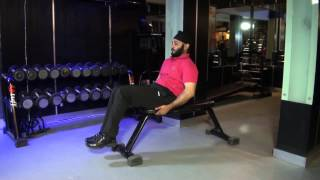 ABDOMINALS (LOWER) - Bent Knee Leg Raises On Bench