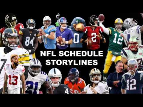 NFL Schedule Storylines | ESPN Video