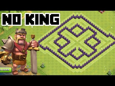 CLASH OF CLANS - TH7 FARMING BASE BEST TOWN HALL 7 Defense Without The Barbarian KING