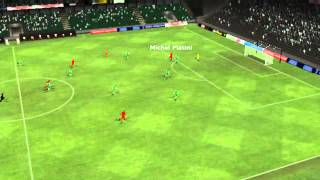 Cherno more vs CSKA (Sofia) - Michel Platini Goal 13 minutes