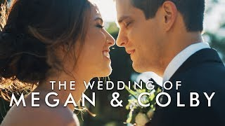 This Will Make You Cry!! // Megan + Colby Napa Wedding [4K] // Shot on RED Scarlet-W