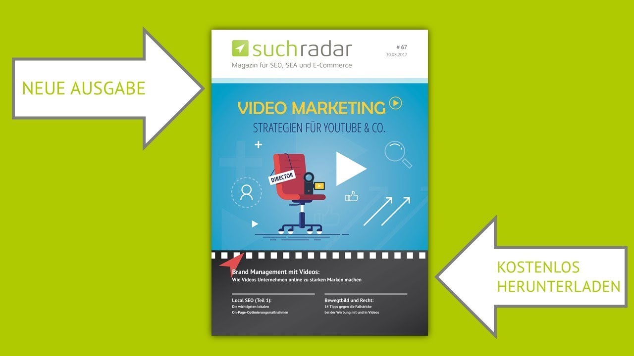 Kurzvorstellung suchradar #67: Video-Marketing: Strategien für ...