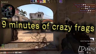 9 minutes of crazy frags (Ft. Duby)