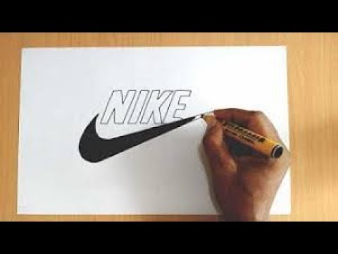 How to Draw the Nike Logo Easy - DIY | HS How