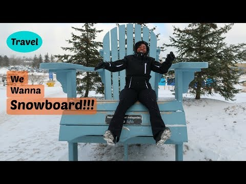 Time to Snowboard: Beginner Snowboarder Mountain Review | Toronto/Blue Mountain Canada Day 4