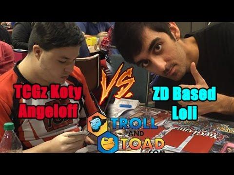 Zodiac Duelist Round BEEF: TCGz Koty Angeloff (Brilliant Kozmo) Vs ZD Based Loli (Kozmo)