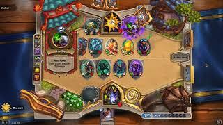 Hearthstone Witchwood Big Demon Warlock Test