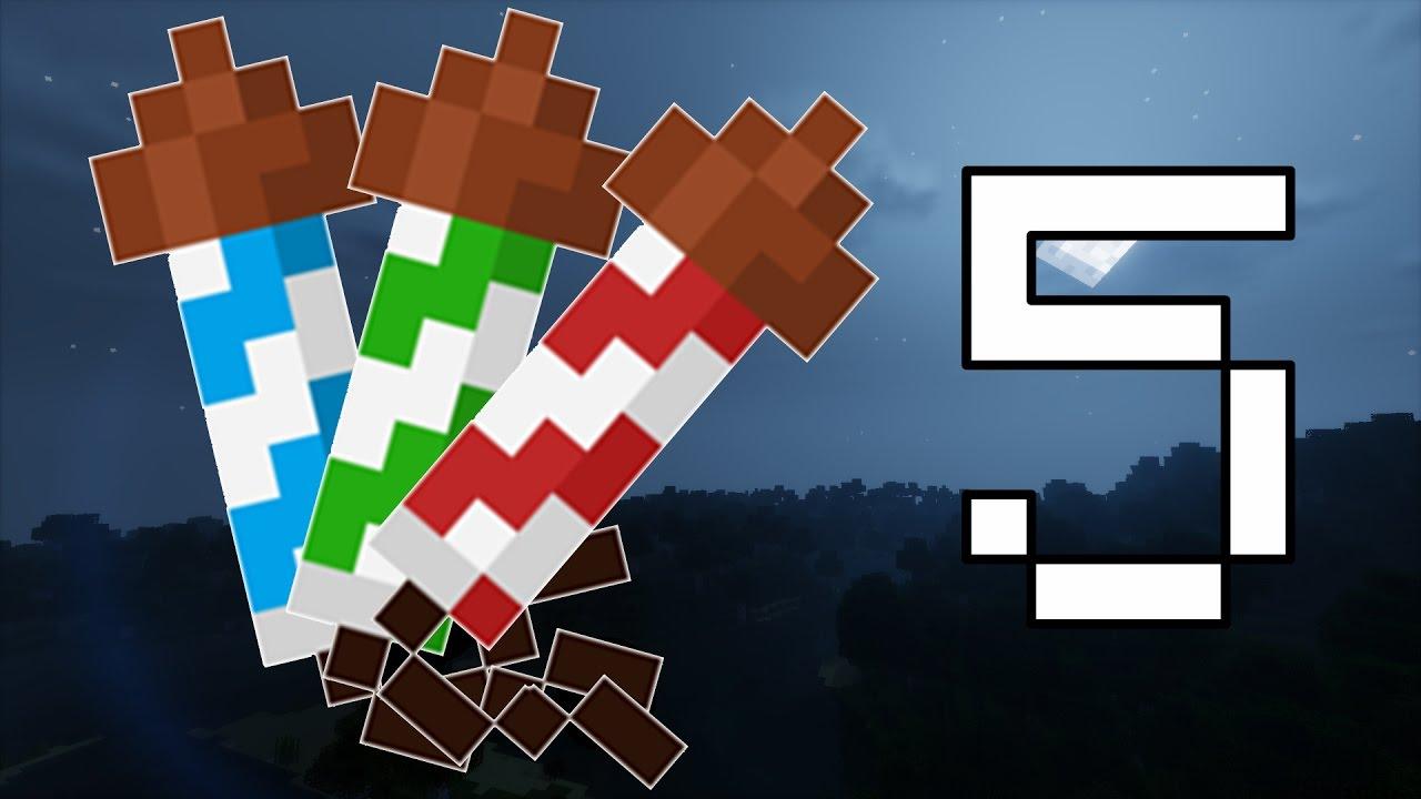 5 Cose Sui Fuochi Dartificio Minecraft 111 Youtube