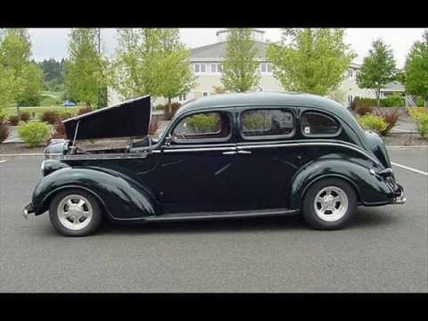1938 desoto 4 door sedan restomod old youtube for 1938 chevy 4 door sedan for sale