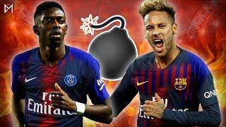 BOMBE Mercato ! DEMBÉLÉ au PSG, NEYMAR au Barça ?!