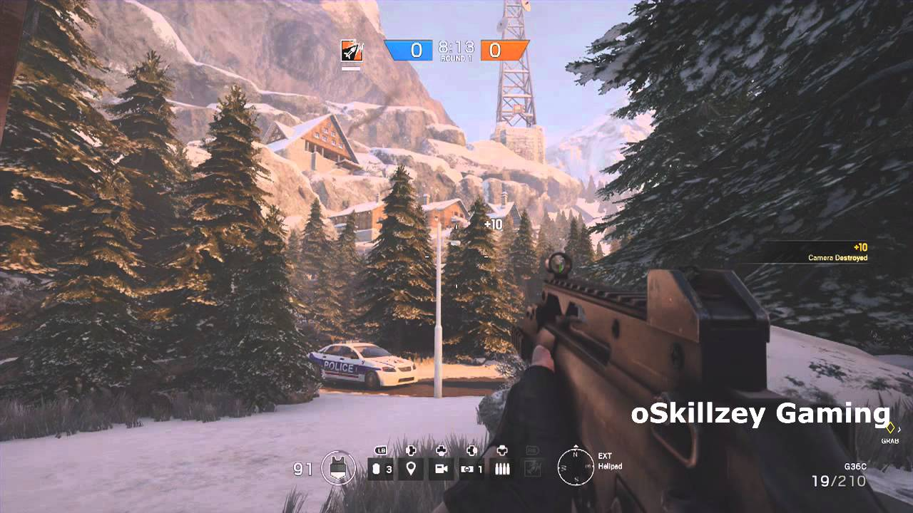 Rainbow Six Siege: | All camera locations on Chalet