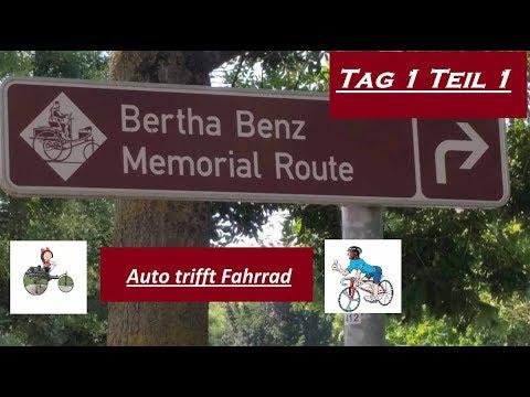 Radtour: Bertha Benz Memorial Route Tag 1 Teil 1