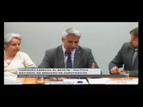 PL 6670/16 - POLÍTICA NACIONAL REDUÇÃO AGROTÓXICOS - Reunião Deliberativa - 03/07/2018 - 15:39