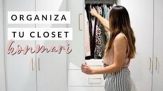 Cómo organizar tu ropa | Método KonMari
