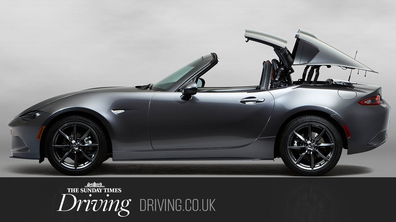 hardtop convertible mazda mx 5 rf review - youtube
