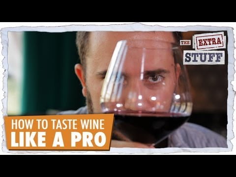 wine article How To Taste Wine