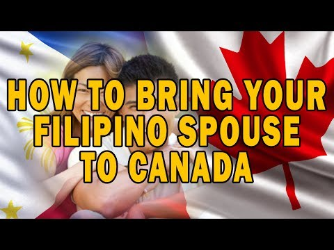 How to Bring Your Filipino Spouse to Canada?