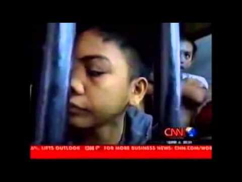 Children in jail in the Philippines crop