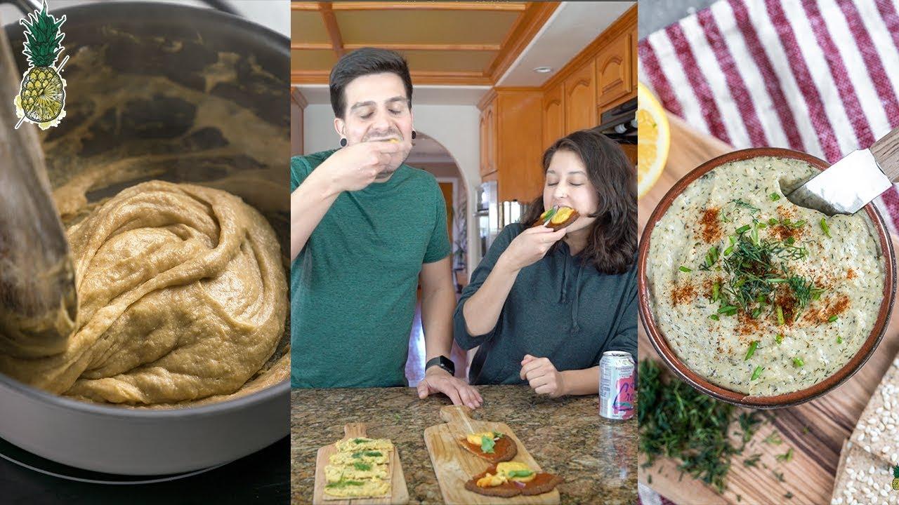 Homemade Vegan Cheese Recipe Challenge | Chris vs. Jasmine