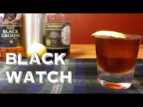 Black Watch - an Awesome Cocktail with Scotch Whisky & Coffee Liqueur