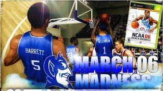 NCAA March Madness 06 in 2018 in 4KHD!😱Duke vs Gonzaga Nailbiter!