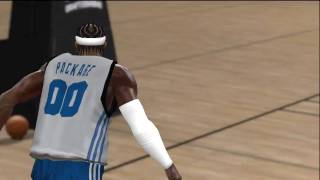 NBA 2k10 Draft Combine (HD) - Vince Carter Reverse 360 Windmill