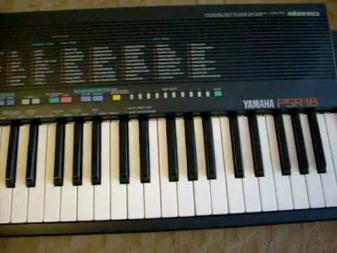 Yamaha psr 18 presentation 1 youtube for Yamaha psr ew