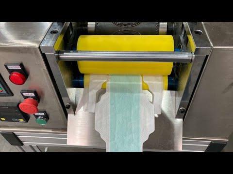 Economy Sanitary Napkin Pad Making Machine