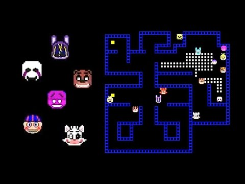 FNAF PAC-MAN 2 | Gameplay + Secret Night [2015-08-18]