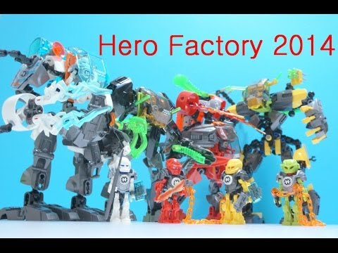 Lego Hero Factory Invasion from below 44015 - 44022 (All)  Time Lapse (레고 히어로팩토리)