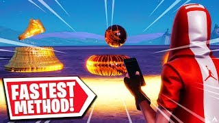 NEW FASTEST WAY TO COLLECT SHOES, BASKETBALLS & COINS on Fortnite...