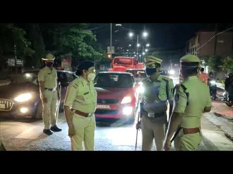 Night Curfew imposed in Mangaluru | ಮಂಗಳೂರಲ್ಲಿ ರಾತ್ರಿ ಕರ್ಫ್ಯೂ ಜಾರಿ: ಮನೆ ಸೇರುವ ಮುನ್ನ ಪೊಲೀಸರಿಂದ ತಡೆ
