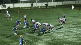 IFAF Training Tape 2021 2 Defensive pass interference Grabbing an arm