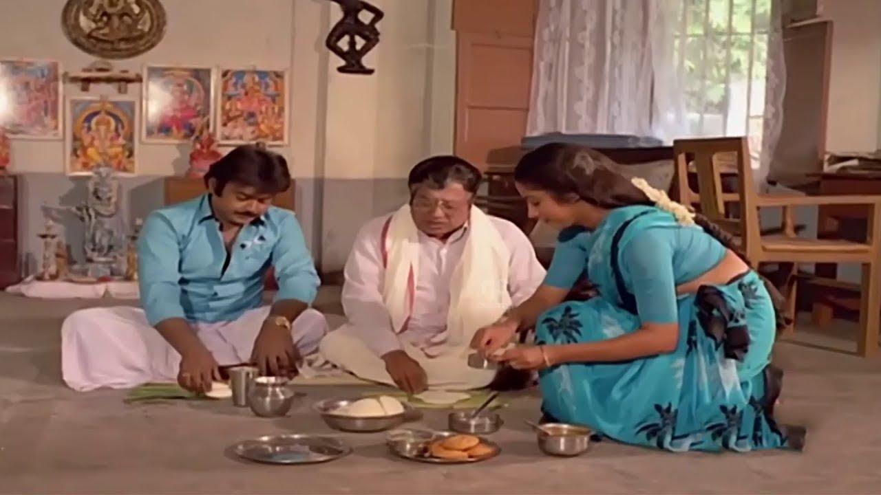 #Vijayakanth இந்த மல்லிகை பூ இட்லிக்கு கொத்தமல்லி சட்னிக்கு சொத்த எழுதி வச்சிடலாம்   V. K. Ramasamy