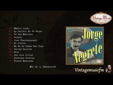 Jorge Negrete. Colección Perlas Mexico #9 (Full Album/Álbum Completo)