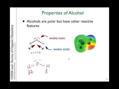 32 Alcohols, Ethers And Thiols Introduction