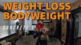 FULL BODYWEIGHT HIIT: Concrete 1