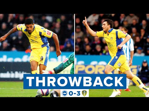 Beckford beauty and Snodgrass stunner! | Brighton 0-3 Leeds United | Throwback 2009/10