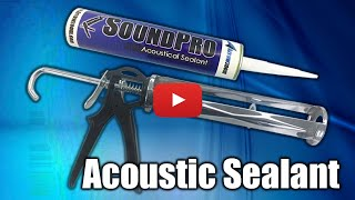 Acoustic Treatment: Unboxing Polyurethane Sealant Soundproofing with Culking Gun
