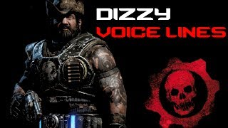 Gears of War 4 - Dizzy Quotes Voice Lines