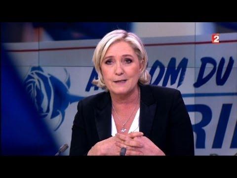 """Marine Le Pen """"en congé de la présidence du FN"""""""